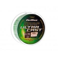"""Леска """"FORMAX CARP ULTRA CAST"""" 150MT 0.20мм(уп10шт), шт"""