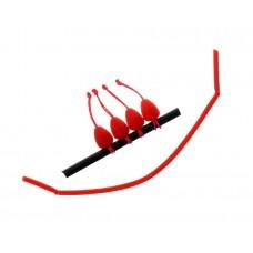 Конектор для штекера Flagman Dacron Connector Red XLarge