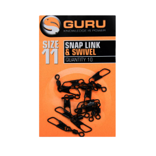 Вертлюг с карабином Guru Swivel Snap Link Size 11, шт