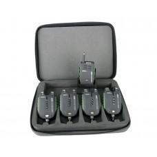 CARP PRO Набор электронных сигнализаторов поклевки  Sensor WDX 4+1, шт
