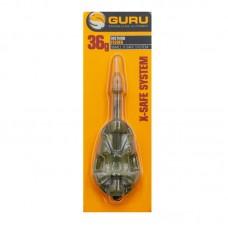 Кормушка GURU X-Safe Method Feeder small 36гр