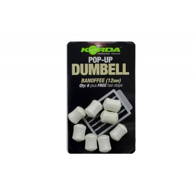 KORDA Имитационная приманка Dumbell Pop-Up Banoffee 16мм