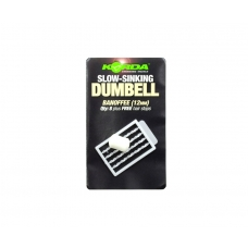 KORDA Имитационная приманка Dumbell Slow Sinking Banoffee 12мм