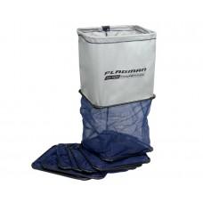 Садок FLAGMAN прямоугольный с пластиковым каркасом 4м (50x40 см)