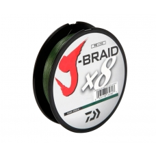 DAIWA Шнур J-Braid x8 0,13mm 8,0kg 150m green, шт