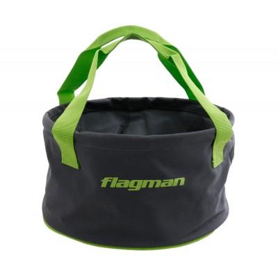 Мягкое ведро для замеса прикормки Flagman 30x17 см