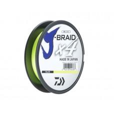 Шнур DAIWA J-Braid x4 0,15mm 6,9kg 270m Yellow