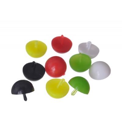 Плавающие стопоры для бойлов Carp Pro Mix Color половинка бойла