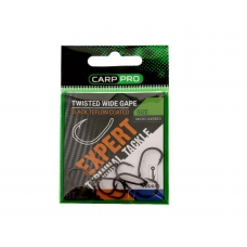 Крючки Carp Pro Twisted Wide Gape BT Series №4