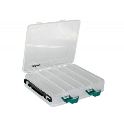 Коробка пластиковая двухсторонняя Flagman 275х150х50мм