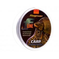 Леска FLAGMAN F-LINE CARP 135м 0,25мм, шт