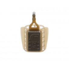 Кормушка пластиковая фидерная FLAGMAN маленькая сетка со стабилизатором 42g