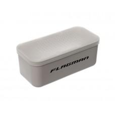 Коробка с крышкой для наживки с отверстиями Flagman