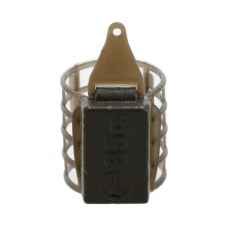 Кормушка пластиковая фидерная FLAGMAN микро сетка со стабилизатором XS 35g
