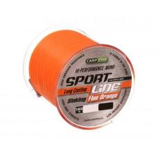Леска CARP PRO Sport Line Fluo Orange  1000M 0,265 mm