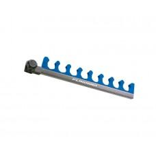 Гребенка на 8 секций с креплением для платформы FLAGMAN D-25/30/36mm (синяя)