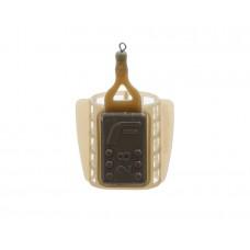 Кормушка пластиковая фидерная FLAGMAN маленькая сетка со стабилизатором 28g