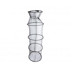 Садок FLAGMAN черный 4 кольца (40х130 см)