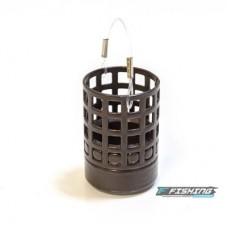 Кормушка метал Flagman Bullet M(25мл) 100г