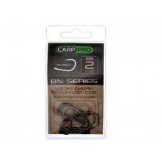 Крючки Carp Pro Black Nickel Wide Gape In-turned Eye №4