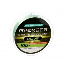 Леска FLAGMAN Avenger Olive Line 100m 0,30mm