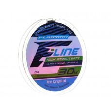 Леска Flagman F-Line Ice Crystal 30 м, 0,10 мм