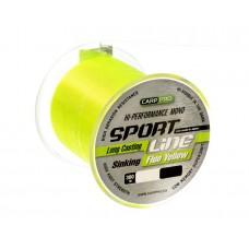 Леска CARP PRO Sport Line Fluo Yellow  300M 0,235 mm