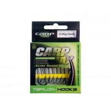 Крючок Carp Pro Teflon D-Rig Hooks №2